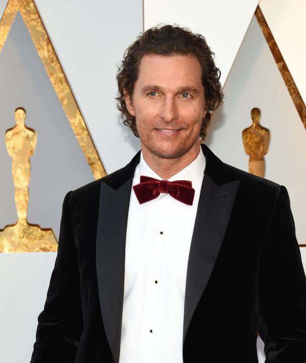 Matthew McConaughey agli Oscar