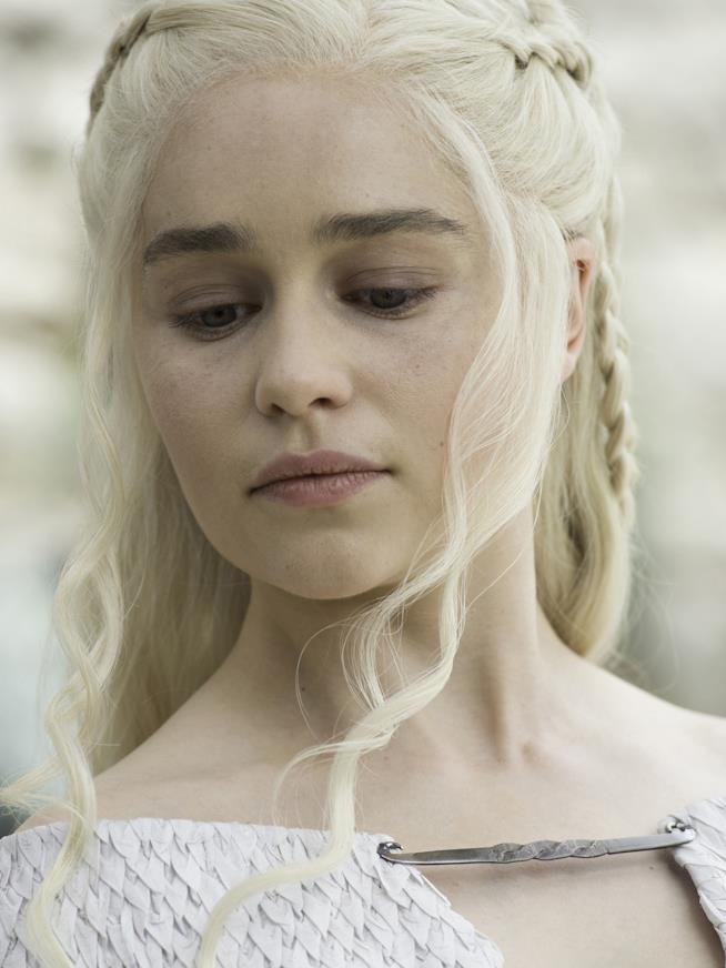 Un ritratto di Daenerys Targaryen