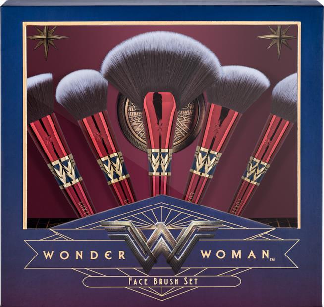 I pennelli di Wonder Woman