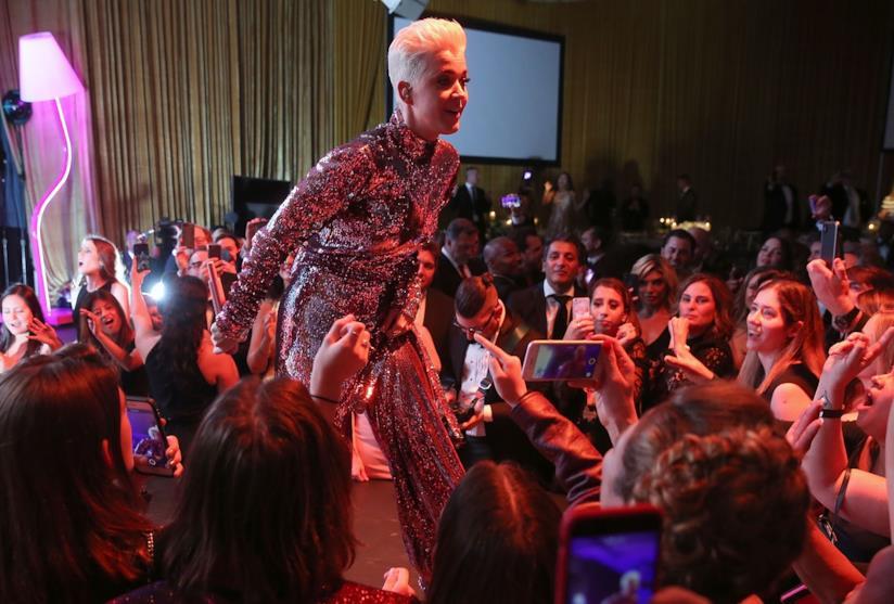Katy Perry a uno degli After Party degli Oscar
