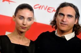 Joaquin Phoenix e Rooney Mara a Roma