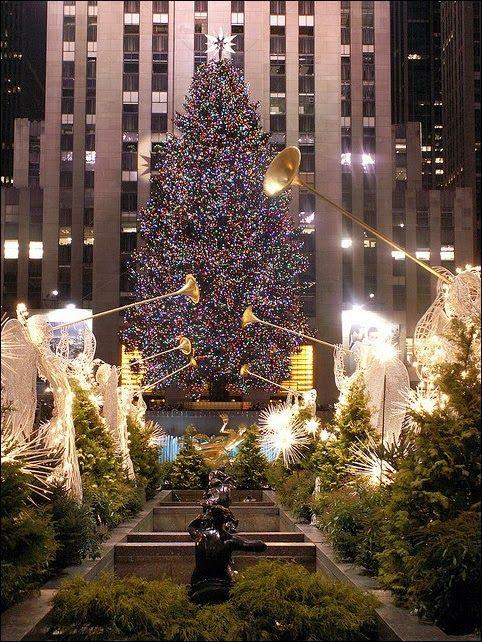 Albero di Natale di New York