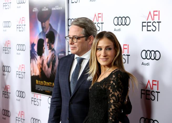 Matthew Broderick e la moglie Sarah Jessica Parker