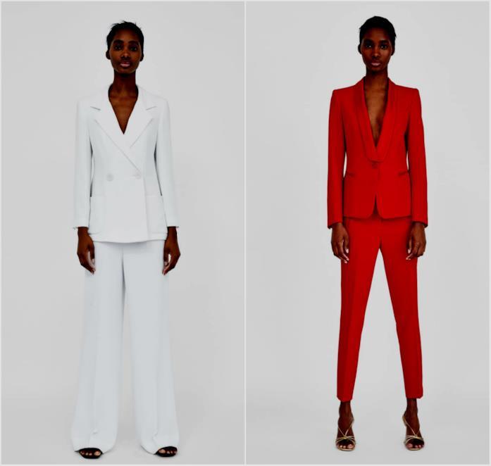 Collage di tailleur pantalone di Zara