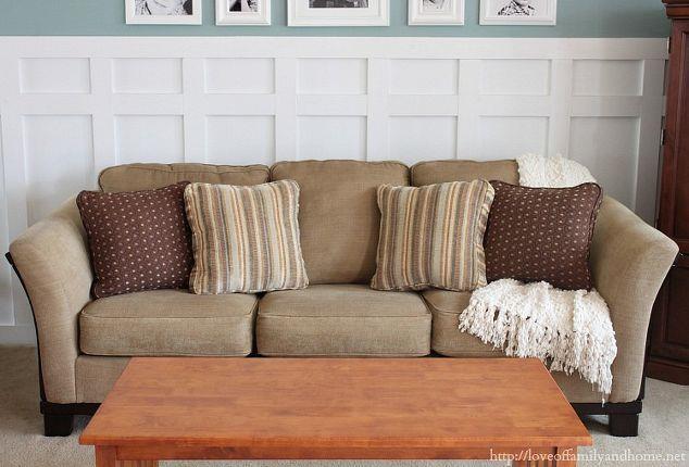 Come regalare nuova vita e colore al vecchio divano del soggiorno