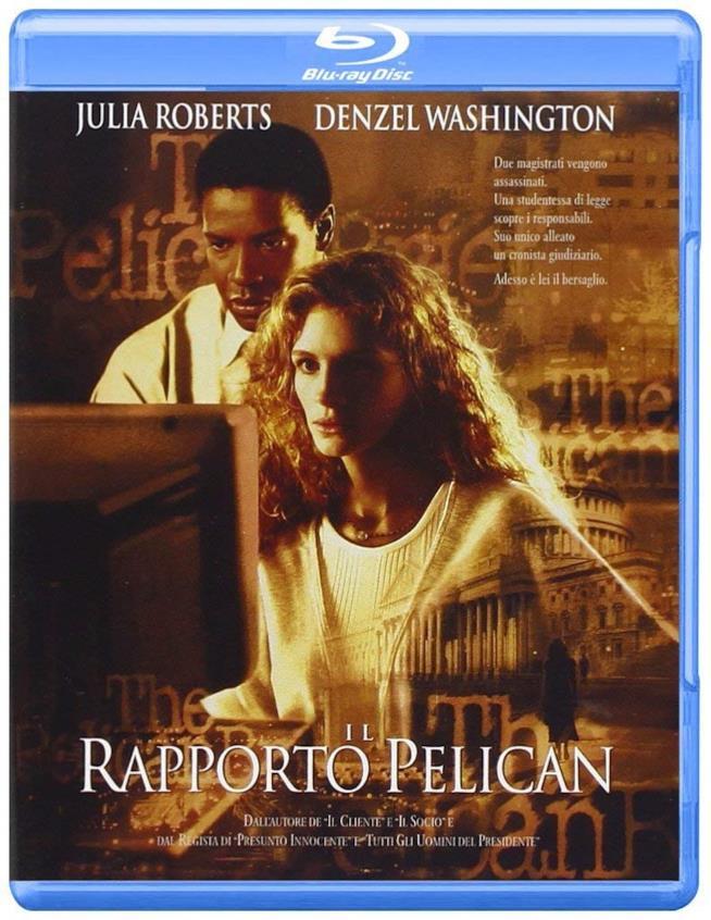 Blu-ray de Il rapporto Pelican