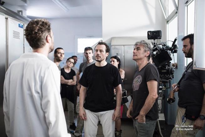 Luciano Ligabue e Stefano Accorsi sul set