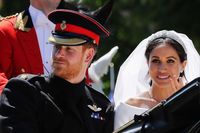 Meghan Markle e Harry matrimonio