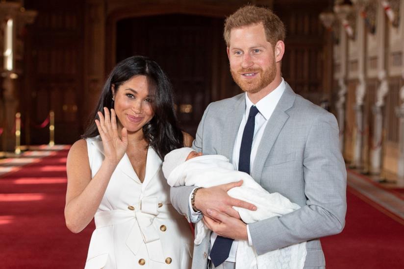 Il Principe Harry, Meghan Markle e Archie Harrison