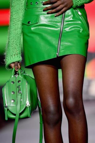 Verde fluo per la collezione di Sonia Rykiel