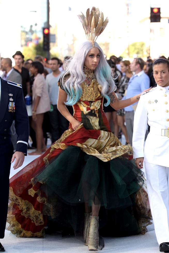 Lady Gaga agli MTV VMA 2010
