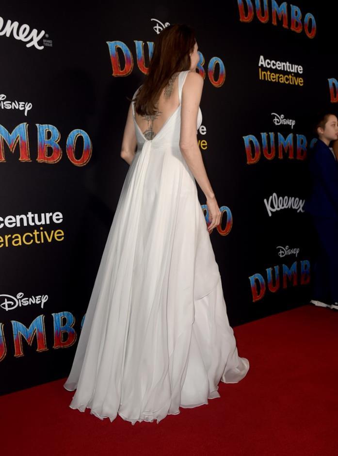 Angelina Jolie sul red carpet di Dumbo
