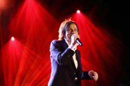 Gianna Nannini durante un concerto