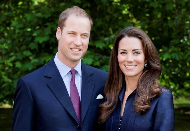 Kate Middleton e William in primo piano