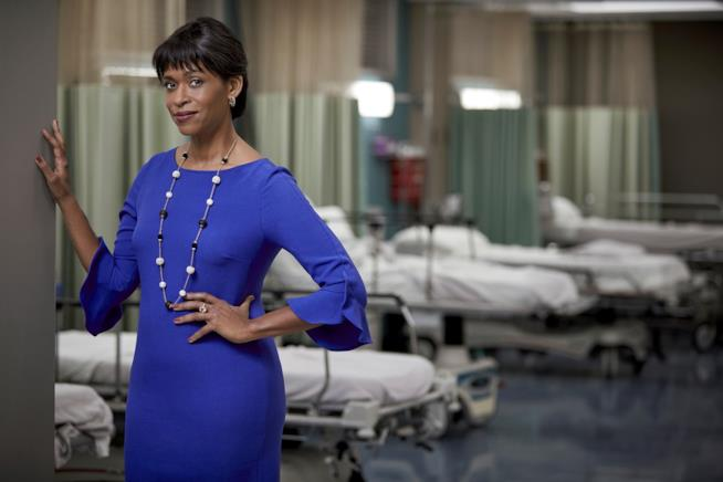 Merrin Dungey di The Resident
