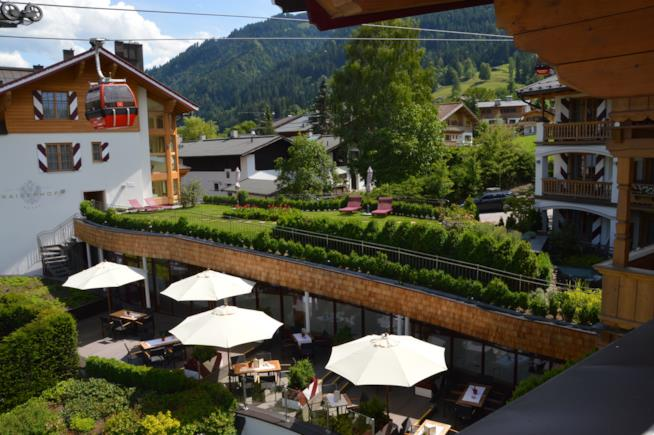 acanze ponte del 25 Aprile: 10 mete incantevoli: Hotel Kaiserhof, Kitzbühel