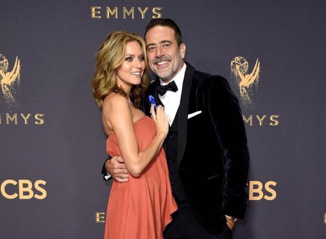 Jeffrey Dean Morgan con la moglie Hilarie Burton