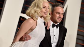 Lady Gaga e l'ex fidanzato Taylor Kinney