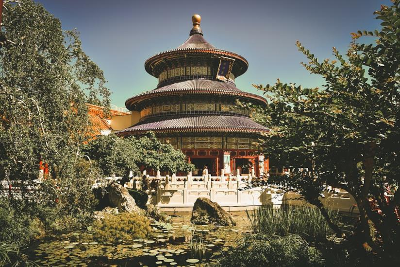 Pagoda orientale