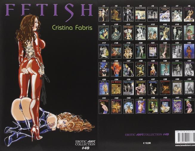 Fetish, libro a fumetti erotico di Cristina Fabris
