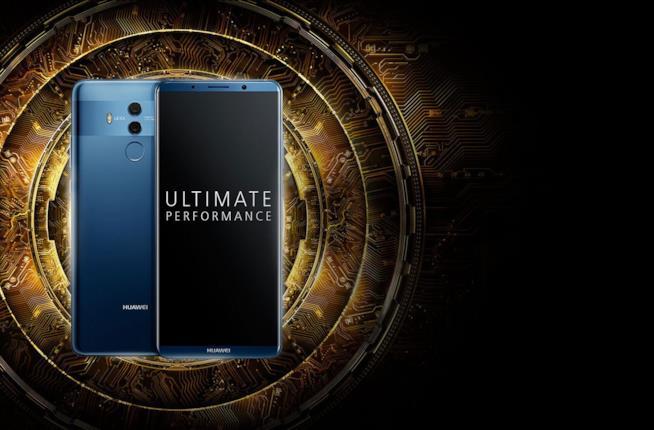 Una immagine del nuovo smartphone Huawei Mate 10 Pro