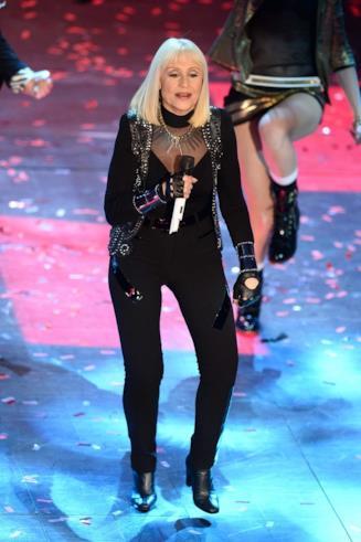 Raffaella Carrà al Festival di Sanremo