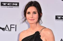 Courteney Cox sul carpet dell'evento AFI