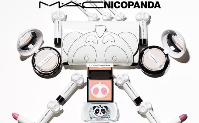 Collezione make-up Mac per Nicopanda
