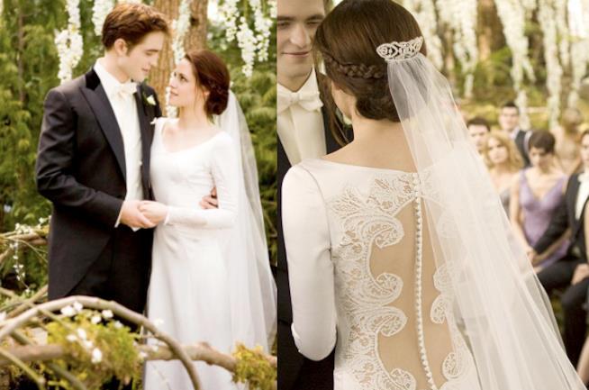 Twilight, una scena del matrimonio con Kristen Stewart