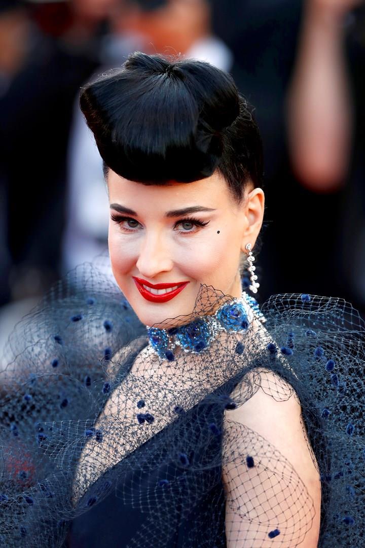 Dita Von Teese a Cannes 2019