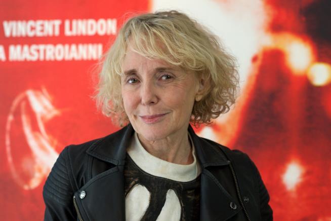 La regista Claire Denis, vincitrice del Pardo d'oro a Locarno