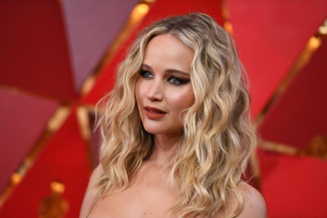 Jennifer Lawrence in primo piano agli Oscar