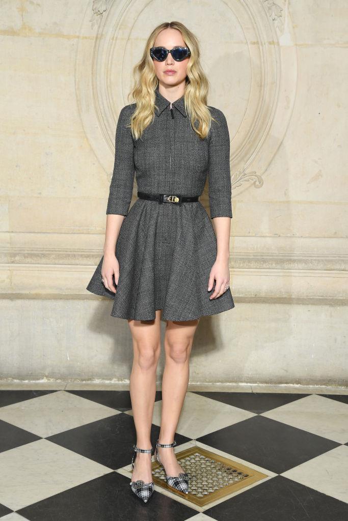 Un look da diva per Jennifer Lawrence
