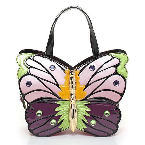 A forma di farfalla, la borsa di tendenza per l'estate 2018