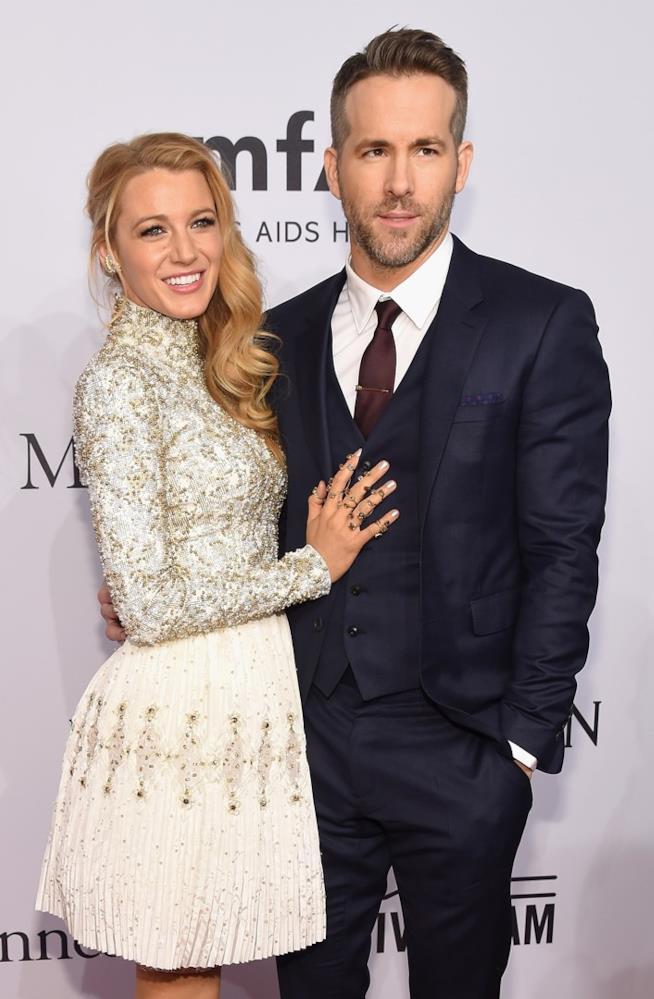 Blake Lively e Ryan Reynolds con uno dei loro look più belli