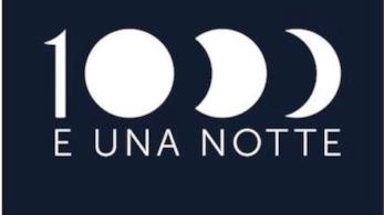 Il logo di 1000 E UNA NOTTE