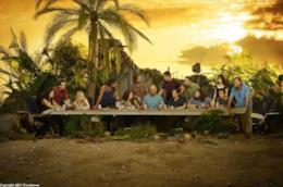 Una famosa immagine di Lost con il cast della serie