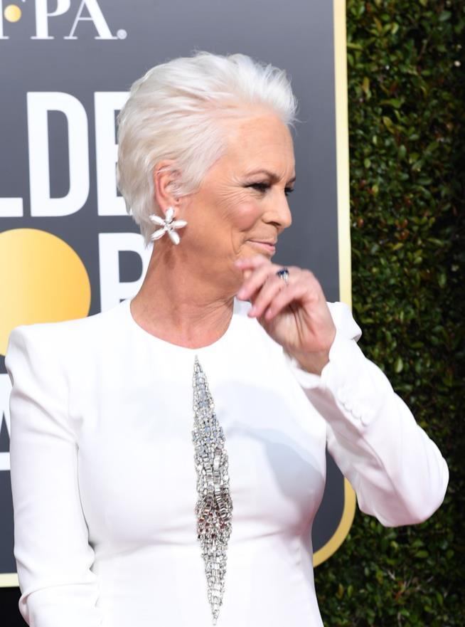 Jamie Lee Curtis ai Golden Globes 2019