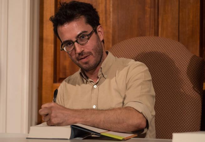 Lo scrittore Jonathan Safran Foer