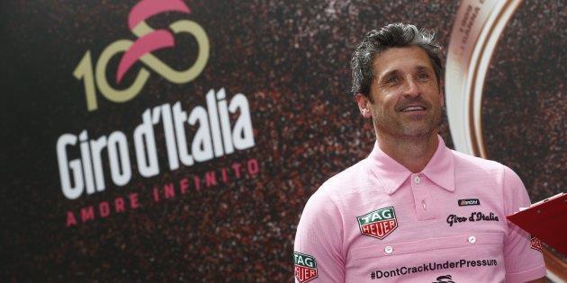 Patrick Dempsey partecipa al Giro d'Italia 2017