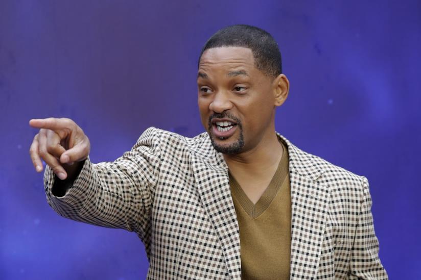 Will Smith presenta Aladdin a Londra