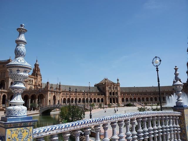 Parco di María Luisa e Plaza de Espana