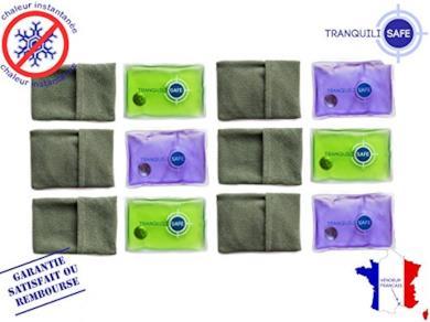 TRANQUILISAFE ® - Partita di 6 Scaldamani tascabili