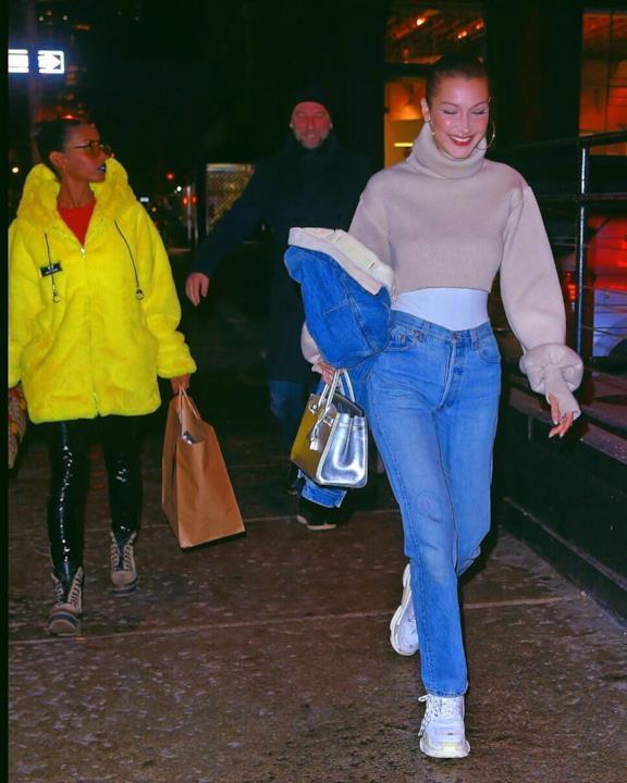 Bella Hadid e lo streetstyle