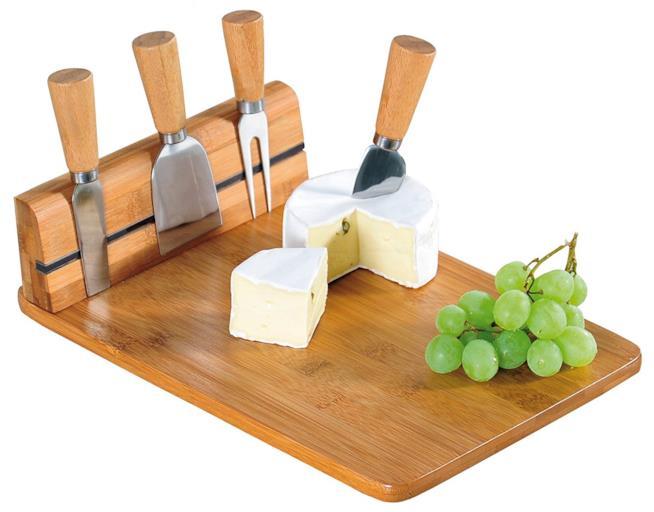 Tagliere per formaggi con posate