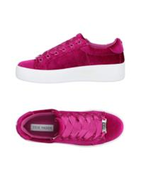 Sneakers in velluto fucsia