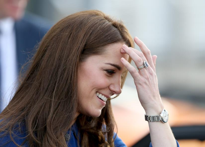 Kate Middleton in primo piano