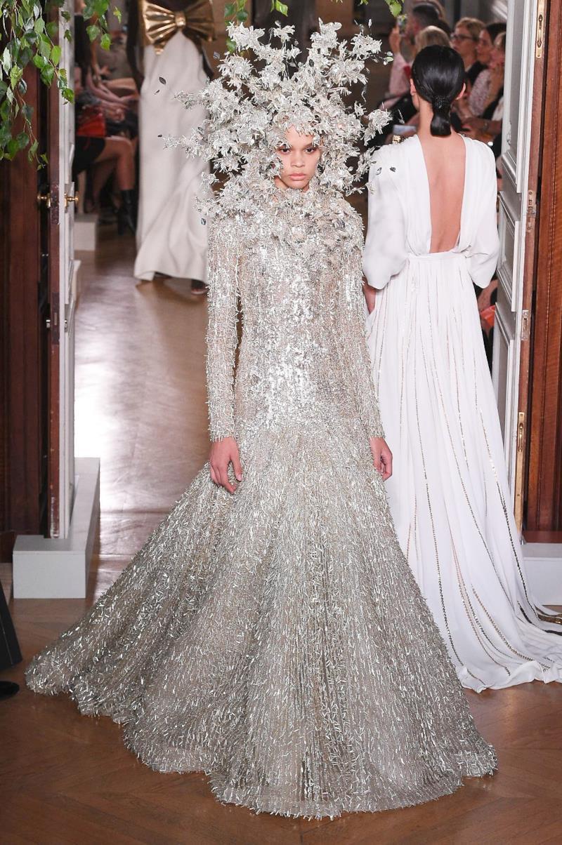 Sfilata VALENTINO Collezione Alta moda Autunno Inverno 19/20 Parigi - ISI_4168