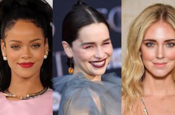 Rihanna, Chiara Ferragni ed Emilia Clarke