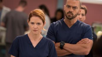 April e Jackson nell'episodio di Grey's Anatomy 14x10
